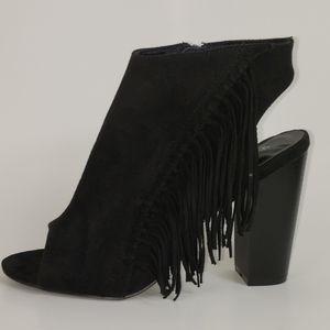 Shoe Dazzle, Black, Size 10, Excellent Condition